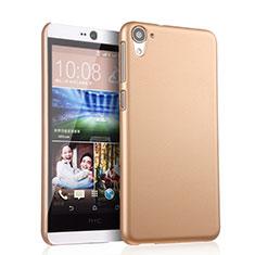 HTC Desire 826 826T 826W用ハードケース プラスチック 質感もマット HTC ゴールド