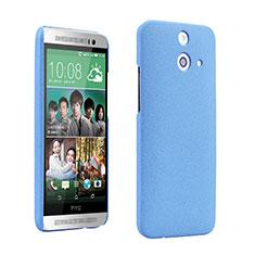 HTC One E8用ハードケース カバー プラスチック HTC ネイビー