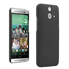 HTC One E8用ハードケース カバー プラスチック HTC ブラック