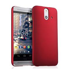 HTC One E8用ハードケース プラスチック 質感もマット HTC レッド