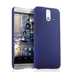 HTC One E8用ハードケース プラスチック 質感もマット HTC ネイビー