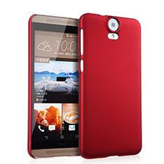HTC One E9 Plus用ハードケース プラスチック 質感もマット HTC レッド