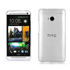 HTC One M7用ハードケース クリスタル クリア透明 HTC クリア