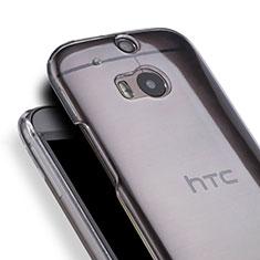 HTC One M8用ハードケース クリスタル クリア透明 HTC クリア