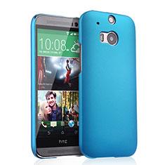 HTC One M8用ハードケース プラスチック 質感もマット HTC ブルー