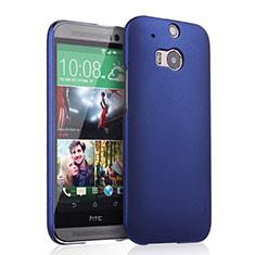 HTC One M8用ハードケース プラスチック 質感もマット HTC ネイビー