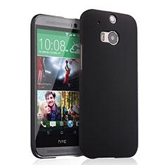 HTC One M8用ハードケース プラスチック 質感もマット HTC ブラック