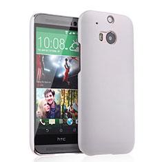 HTC One M8用ハードケース プラスチック 質感もマット HTC ホワイト