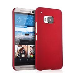 HTC One M9用ハードケース プラスチック 質感もマット HTC レッド