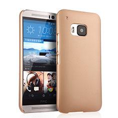 HTC One M9用ハードケース プラスチック 質感もマット HTC ゴールド