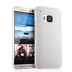 HTC One M9用ハードケース プラスチック 質感もマット HTC ホワイト
