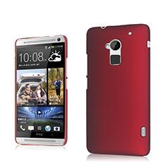 HTC One Max用ハードケース プラスチック 質感もマット HTC レッド