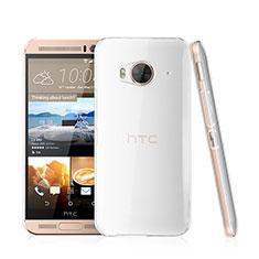 HTC One Me用ハードケース クリスタル クリア透明 HTC クリア