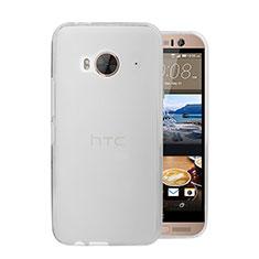 HTC One Me用極薄ケース クリア透明 プラスチック HTC ホワイト