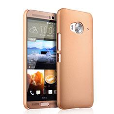 HTC One Me用ハードケース プラスチック 質感もマット HTC ゴールド
