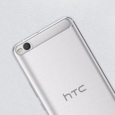 HTC One X9用極薄ソフトケース シリコンケース 耐衝撃 全面保護 クリア透明 HTC クリア