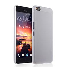 HTC One X9用極薄ケース クリア透明 プラスチック HTC ホワイト
