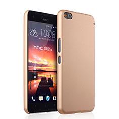 HTC One X9用ハードケース プラスチック 質感もマット HTC ゴールド