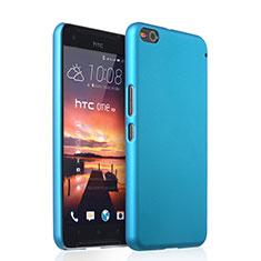HTC One X9用ハードケース プラスチック 質感もマット HTC ブルー