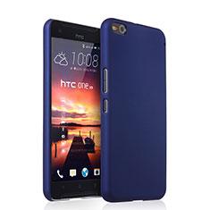 HTC One X9用ハードケース プラスチック 質感もマット HTC ネイビー