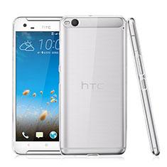 HTC One X9用ハードケース クリスタル クリア透明 HTC クリア