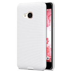 HTC U Play用ハードケース プラスチック 質感もマット HTC ホワイト