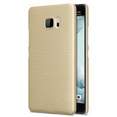 HTC U Ultra用ハードケース プラスチック 質感もマット HTC ゴールド