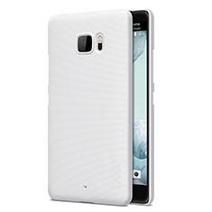 HTC U Ultra用ハードケース プラスチック 質感もマット HTC ホワイト