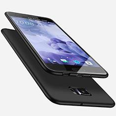 HTC U Ultra用極薄ソフトケース シリコンケース 耐衝撃 全面保護 HTC ブラック