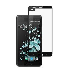 HTC U Ultra用強化ガラス フル液晶保護フィルム HTC ブラック