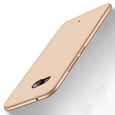 HTC U11用シリコンケース ソフトタッチラバー HTC ゴールド