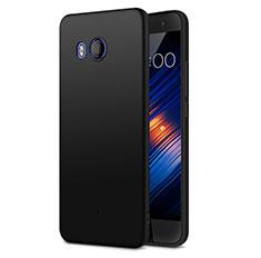 HTC U11用ハードケース プラスチック 質感もマット HTC ブラック