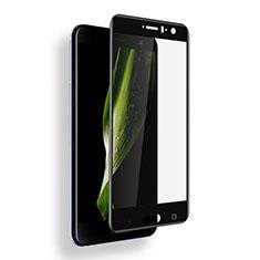 HTC U11用強化ガラス フル液晶保護フィルム F03 HTC ブラック