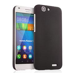 Huawei Ascend G7用ハードケース プラスチック 質感もマット ファーウェイ ブラック