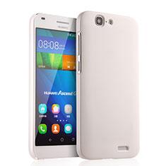 Huawei Ascend G7用ハードケース プラスチック 質感もマット ファーウェイ ホワイト