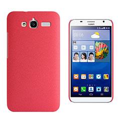 Huawei Ascend GX1用ハードケース カバー プラスチック ファーウェイ レッド