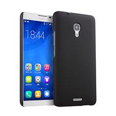 Huawei Ascend Mate 2用ハードケース プラスチック 質感もマット ファーウェイ ブラック