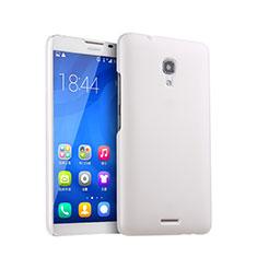 Huawei Ascend Mate 2用ハードケース プラスチック 質感もマット ファーウェイ ホワイト