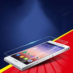 Huawei Ascend P7用強化ガラス 液晶保護フィルム T02 ファーウェイ クリア