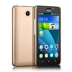 Huawei Ascend Y635 Dual SIM用ハードケース プラスチック 質感もマット ファーウェイ ゴールド