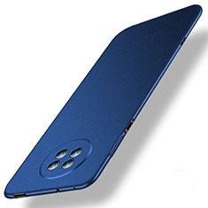 Huawei Enjoy 20 Plus 5G用ハードケース プラスチック 質感もマット カバー M01 ファーウェイ ネイビー
