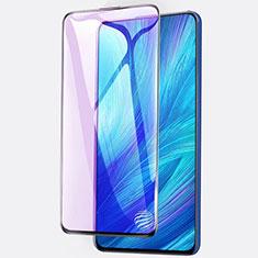 Huawei Enjoy 20 Plus 5G用強化ガラス フル液晶保護フィルム アンチグレア ブルーライト ファーウェイ ブラック