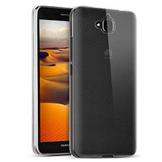 Huawei Enjoy 5用極薄ソフトケース シリコンケース 耐衝撃 全面保護 クリア透明 T02 ファーウェイ クリア