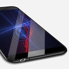 Huawei Enjoy 5S用極薄ソフトケース シリコンケース 耐衝撃 全面保護 S02 ファーウェイ ブラック