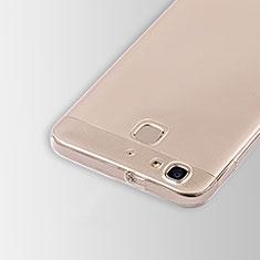 Huawei Enjoy 5S用極薄ソフトケース シリコンケース 耐衝撃 全面保護 クリア透明 T01 ファーウェイ クリア