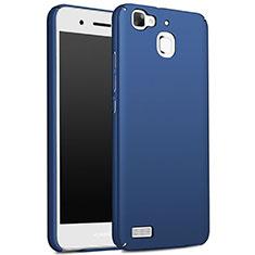 Huawei Enjoy 5S用ハードケース プラスチック 質感もマット M01 ファーウェイ ネイビー
