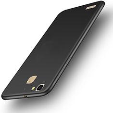 Huawei Enjoy 5S用ハードケース プラスチック 質感もマット M01 ファーウェイ ブラック