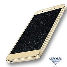 Huawei Enjoy 5S用高光沢 液晶保護フィルム ダイヤモンド ファーウェイ クリア