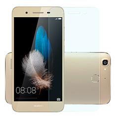 Huawei Enjoy 5S用アンチグレア ブルーライト 強化ガラス 液晶保護フィルム B01 ファーウェイ ネイビー