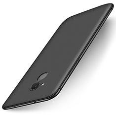 Huawei Enjoy 6S用極薄ソフトケース シリコンケース 耐衝撃 全面保護 S01 ファーウェイ ブラック